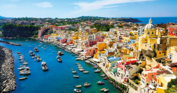 Procida island in Italy (Campania)